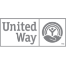 United Way Logo Grayscale