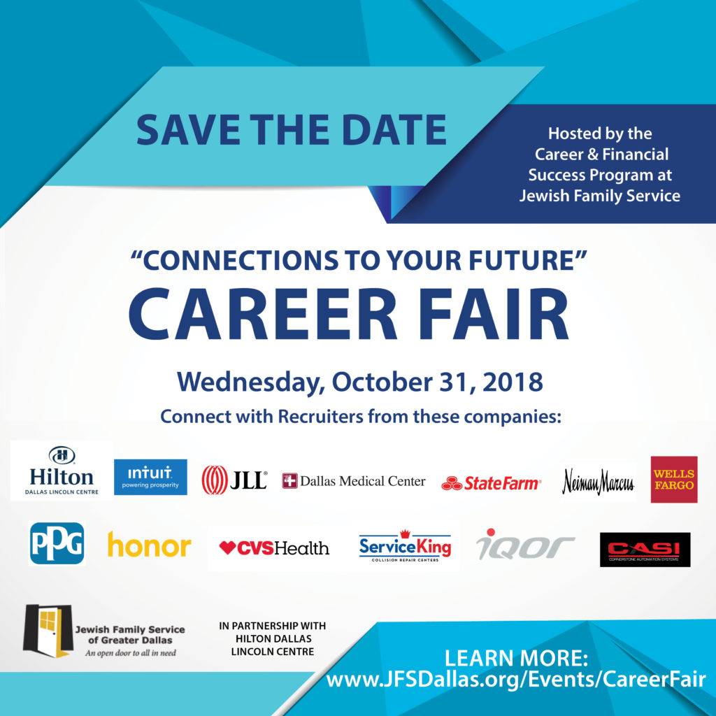 Connections To Your Future Career Fair Jewish Family Service Of