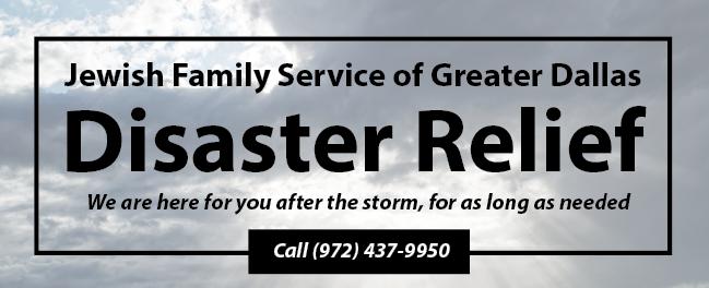 Disaster relief Dallas tornado