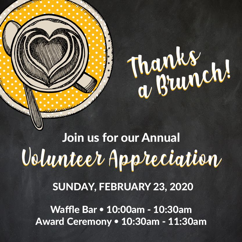 Volunteer Appreciation